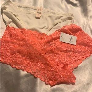 Two NWT panties size medium